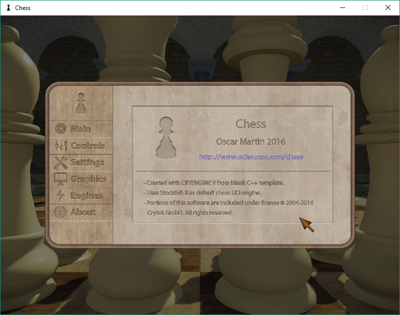 CRYENGINE | Chess game made on CRYENGINE